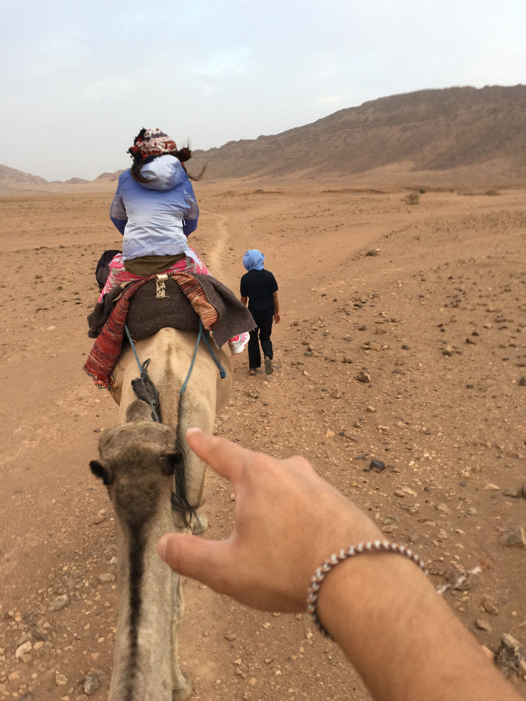 Camel Ride in the Desert - bucket bracelets - 1