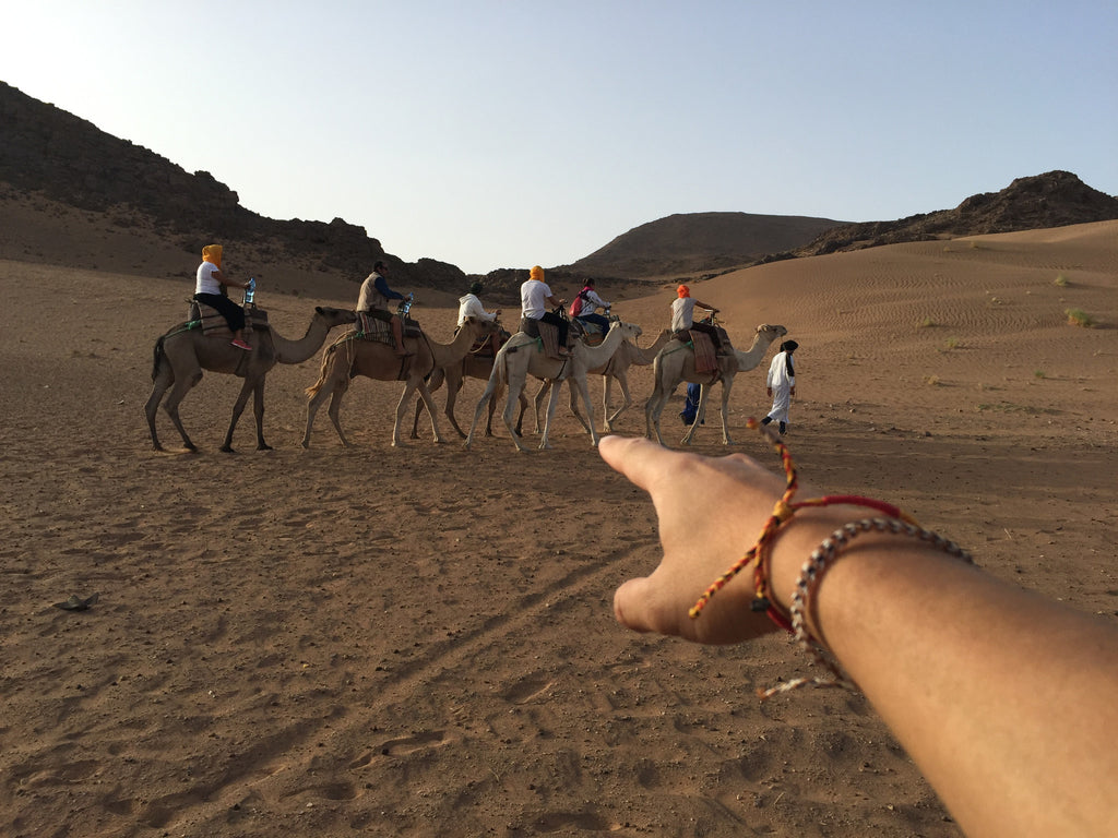 Camel Ride in the Desert - bucket bracelets - 6