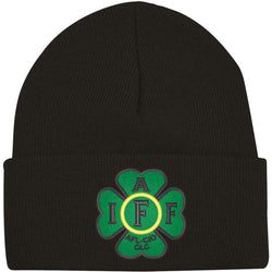 IAFF Irish Four Leaf Knit-Cuff Beanie