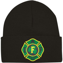 IAFF Irish Maltese Knit-Cuff Beanie