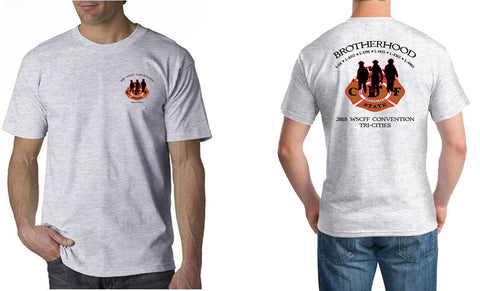"WSCFF ""Union Strong"" Ash Tee"