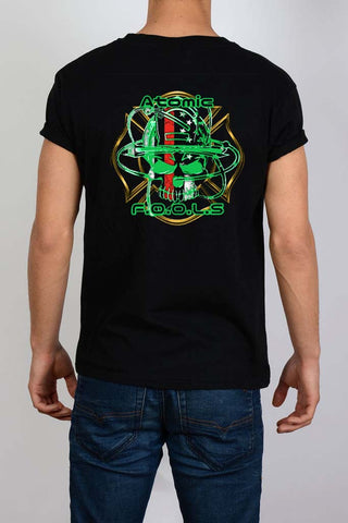 Atomic Fools RingSpun Cotton Glow-in-the Dark Tee