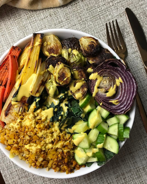 The perfect veggie bowl!
