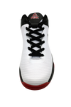 Kids Basketball Shoes | Sleek (White / Red / Black) | PEAK Sport Australia