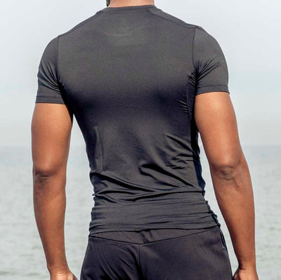 PEAK Men's P-DRY Compression Tee