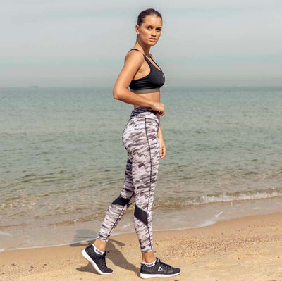 PEAK Women's Full Length Printed Gym Tights