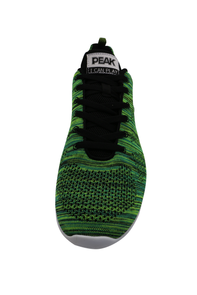 Casual Sneakers | PEAK Ath Knit - Green/Black
