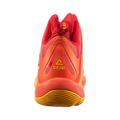 Challenger 2.1 Basketball Shoes (heel) - Orange - PEAK Sport Australia