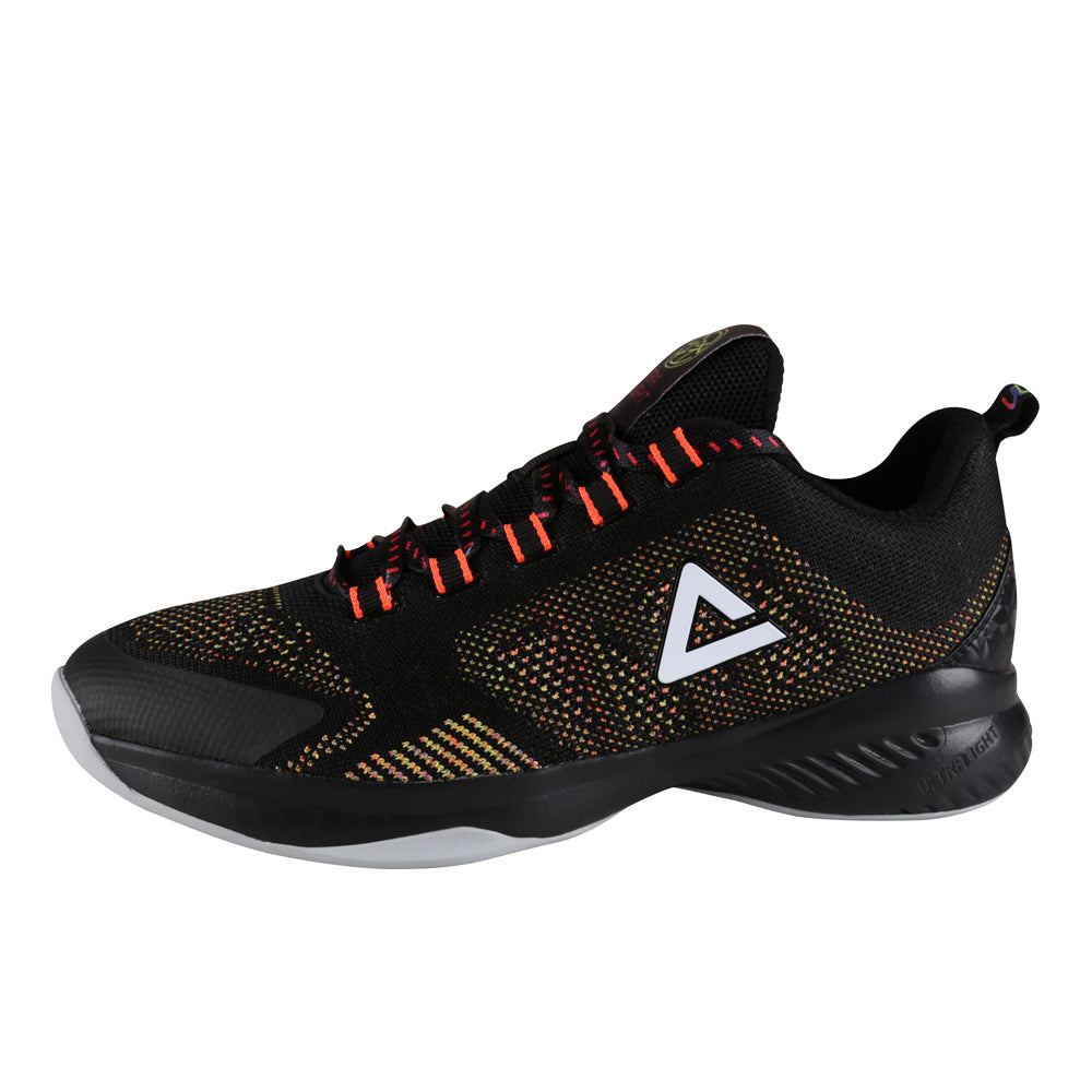 60202ddf55a4 PEAK Basketball Ultralight - Black Fluro Red - PEAK Sport Australia