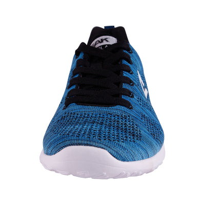 Casual Sneakers | PEAK Ath Knit - Crystal Blue/Black