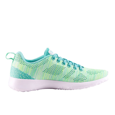 Women's Casual Sneakers | PEAK Ath Knit - Mint/Teal