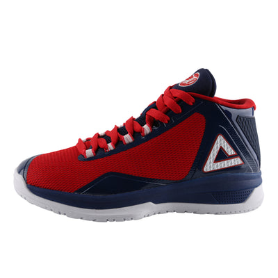 Kids Basketball Shoes | Tony Parker 4 (Red / Blue / White) | PEAK Sport Australia