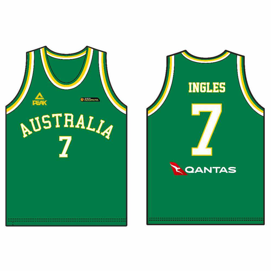 new product 3571c ea49a Australian Boomers | Basketball Jerseys | Peak Sport - PEAK ...