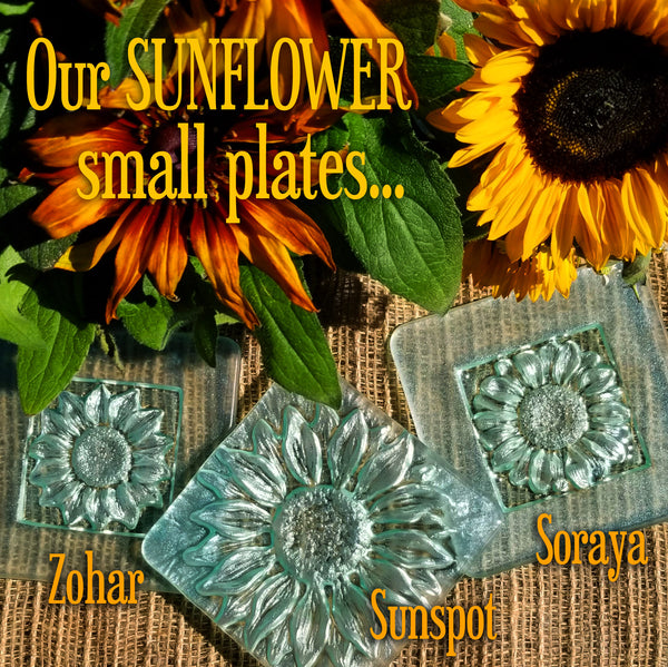 Sunflower Soraya - Accent Plate