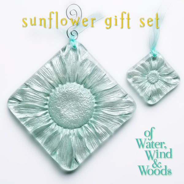 Sunflower Light Catcher Gift Set