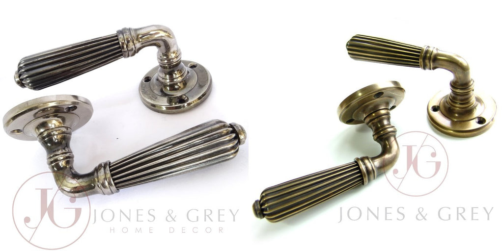 Regency Lever Handles - Antique Brass or Nickel ? ?