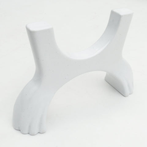 Claw Design Foot Feet Supports for Cast Iron Column Radiator White