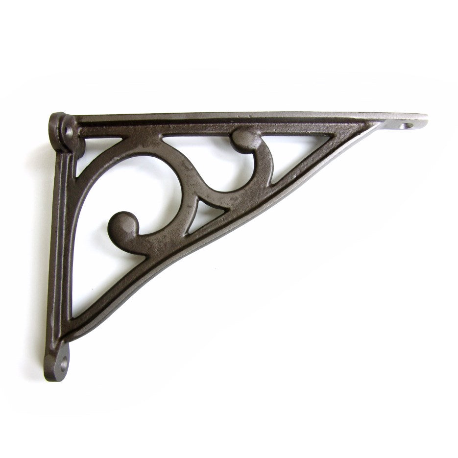 Cast Iron Shelf Bracket - Antique Fine