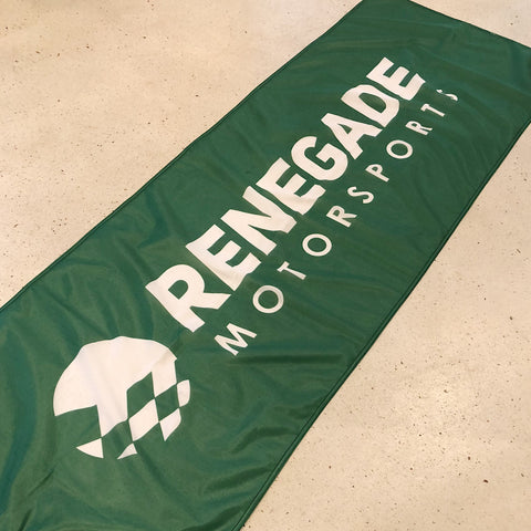 RENEGADE GARAGE BANNER