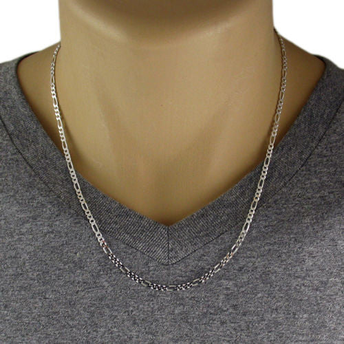 lengths necklace curb in sterling silver cuban products available gauge chain