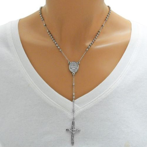 silver fashion men inch chain plated necklace sterling image snake