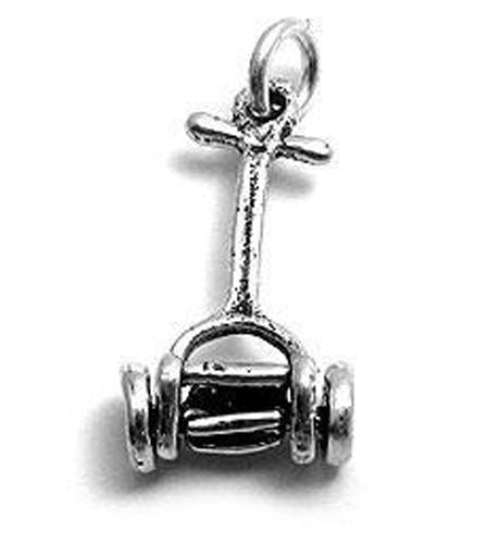 3d lawn mower charm in sterling silver wholesale 925express 3d lawn mower charm wholesale 925 sterling silver pendant jewelry main aloadofball Image collections
