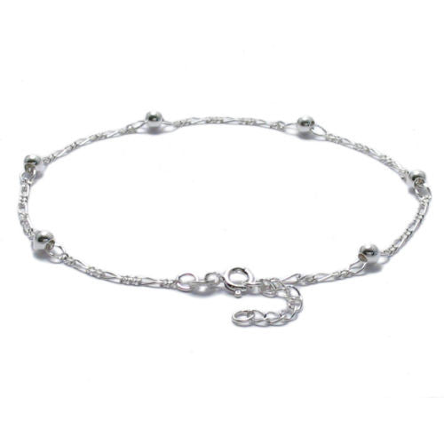 silver crystals ankle adj jewelry sterling variety anklet bracelets inch charms womens pin in