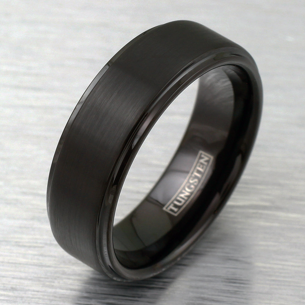 Matching Tungsten Wedding Bands for Him and Her Page 3
