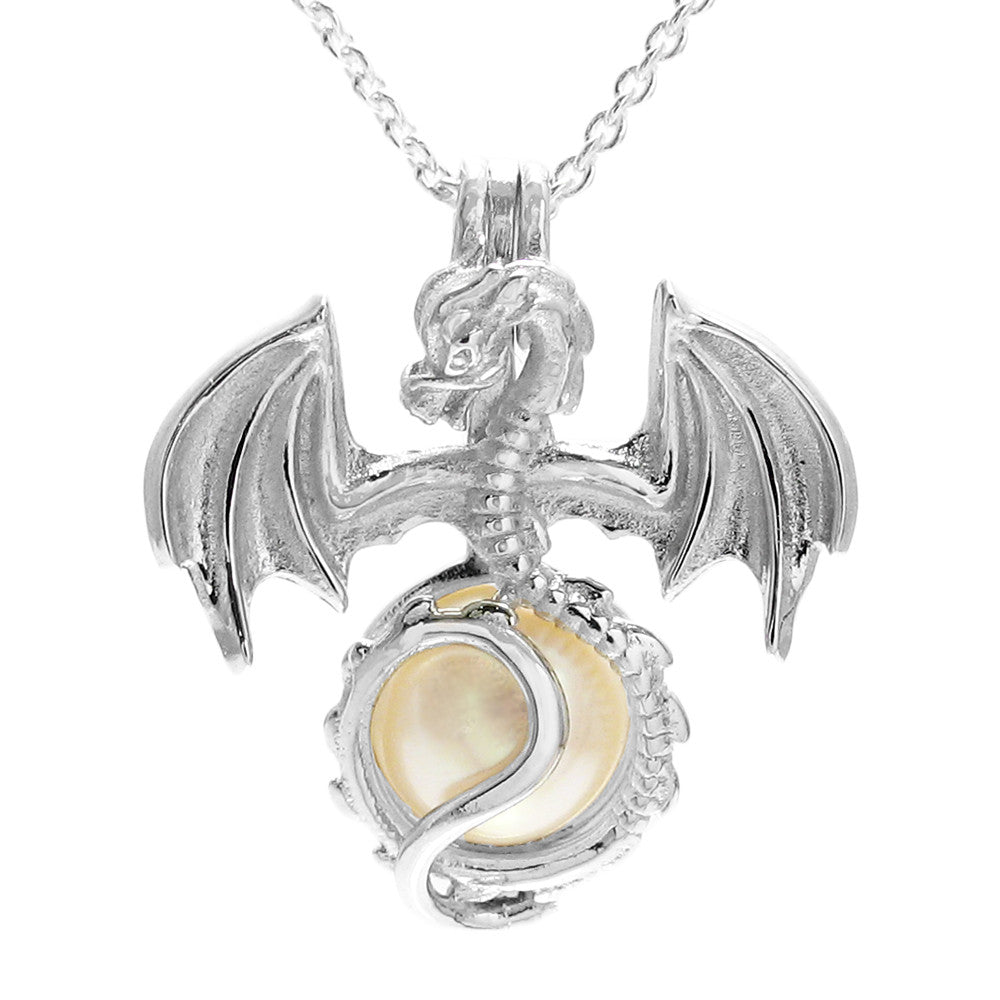 Sterling silver pearl cages 925express amazing 925 sterling silver flying dragon pearl cage pendant wholesale 925 sterling silver jewelry aloadofball Image collections
