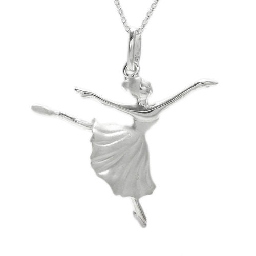 Sterling silver ballerina arabesque pendant wholesale 925express beautiful ballerina in arabesque pose pendant wholesale 925 sterling silver jewelry item photo mozeypictures Image collections