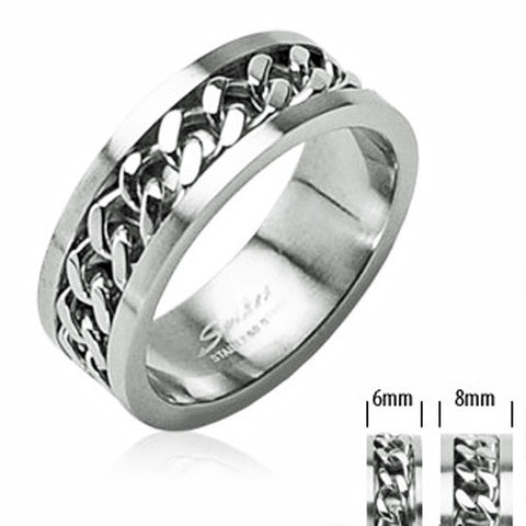 Matching Stainless Steel Wedding Bands for Him and Her 925Express