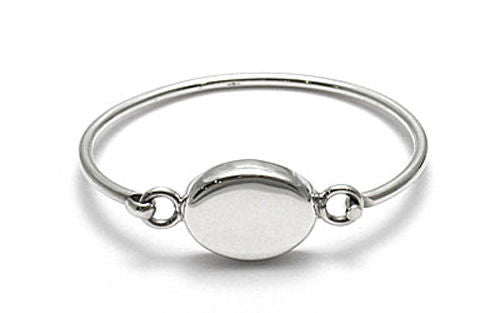 bracelet bridge roberto ben bangles coin bangle jewelry oval