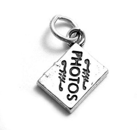 08946aa3d Elegant Photo Album Charm | Wholesale 925 Sterling Silver Charms | Main