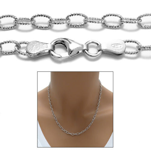 loading necklace men s mens chains titanium rolo chain zoom