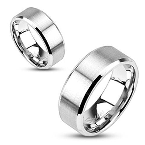 Bridal Stainless Steel 6mm Brushed Band