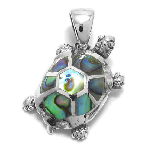 Animal charms wholesale sterling silver charms 925express amazingly cute turtle with abalone turtle shell pendant wholesale 925 sterling silver jewelry top aloadofball Image collections