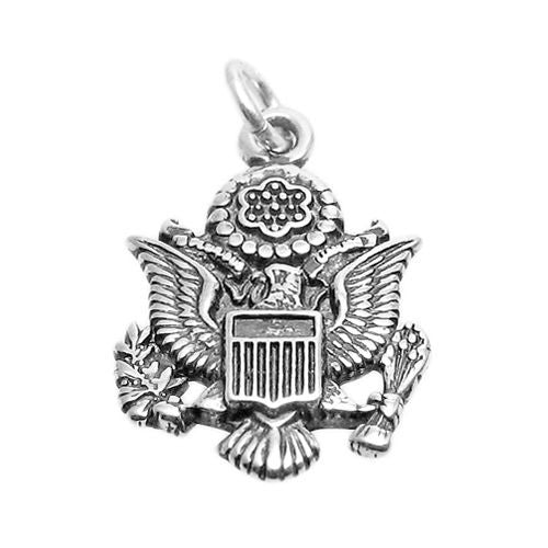 925 Sterling Silver Seal Charm