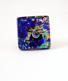Murano Glass Blue Ring - Venice Murano Designs