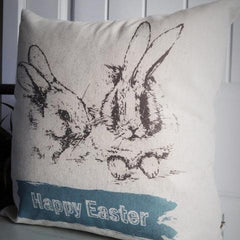Happy Easter - Easter Bunny Pillow - Our Traditions Boutique - 3