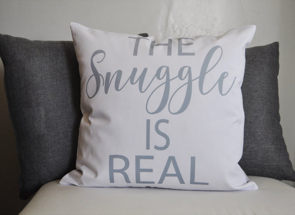 The Snuggle is Real, Pillow Cover, 18x18 - Our Traditions Boutique - 1
