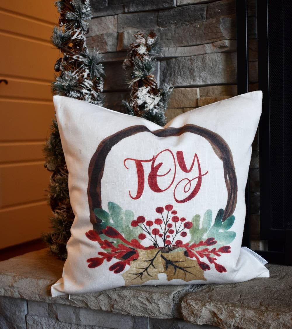 SALE, THIS WEEKEND only, Christmas pillow cover, Merry Christmas Pillow, Christmas decor, Vintage Christmas, Be Merry, Noel, Peace on Earth