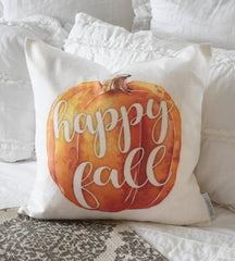 SALE, Fall Pillow Cover, hello fall, Fall Decor, pumpkin pillow, fall pillow