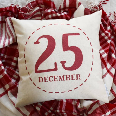 Christmas pillow cover, Merry Christmas Pillow, Christmas decor, Vintage Christmas, December 25, Christmas pillow