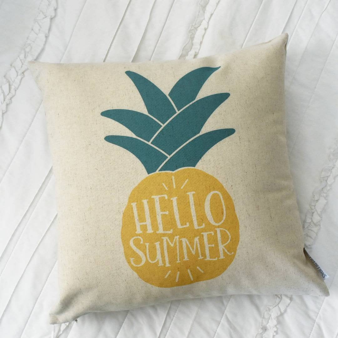 SUMMER SALE, hello summer, Summer Pillow cover, Summer Pillow, Summer decor