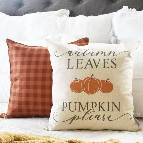 Fall Decor, Fall Pillow Cover, Autumn Pillow Cover