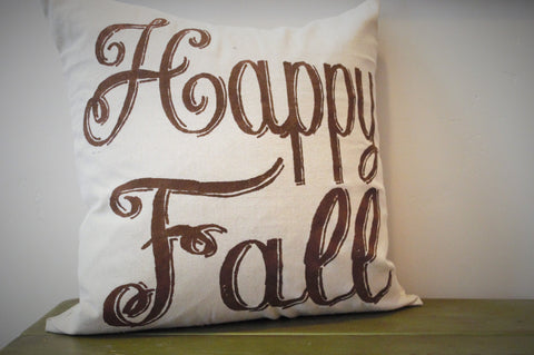 Happy Fall Pillow Cover - Our Traditions Boutique - 2