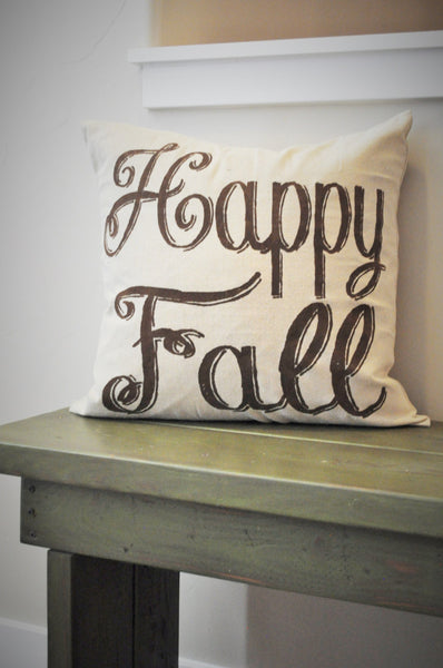 Happy Fall Pillow Cover - Our Traditions Boutique - 1