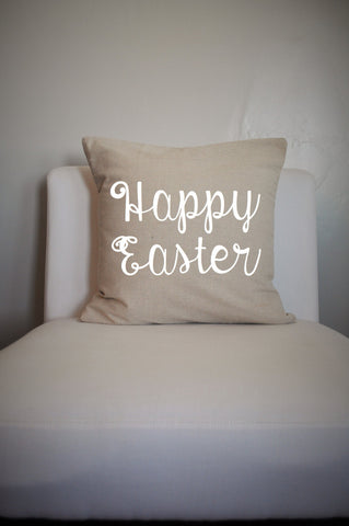 Happy Easter Pillow Cover - Our Traditions Boutique - 1
