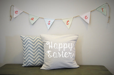 Happy Easter Pillow Cover - Our Traditions Boutique - 2