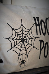 Halloween Pillow Cover, Hocus Pocus Pillow Cover, Halloween Decor, Spider web, Fall pillow